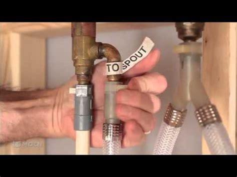 installing moens  hole adjustable roman tub valve