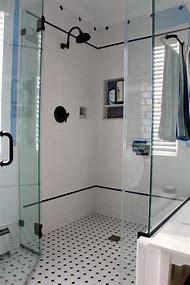 White Subway Tile Bathroom Shower