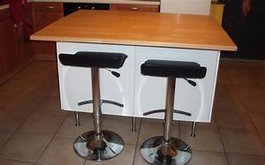 Fabriquer Ilot Central : ilot central de cuisine sur mesure le blog du bois ~ Melissatoandfro.com Idées de Décoration