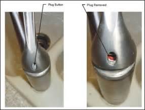 how to open kitchen faucet repairing kohler faucet