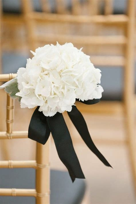 wedding aisle decorations wedding chairs black and