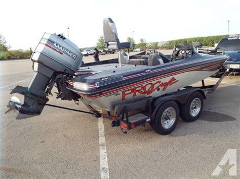 Green Bass Boat Seats by Bass Boat 1994 Procraft 19 Foot 1994 Boat In Hazel