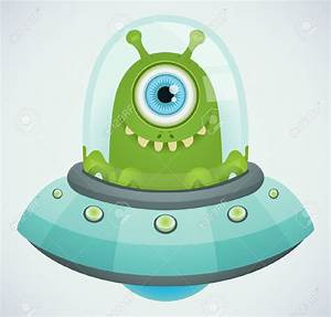 Aliens In Ufo Clipart - ClipartXtras
