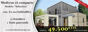 Maison En Bois En Kit Tarif : prix toiture maison 100m2 immobilier pour tous ~ Premium-room.com Idées de Décoration