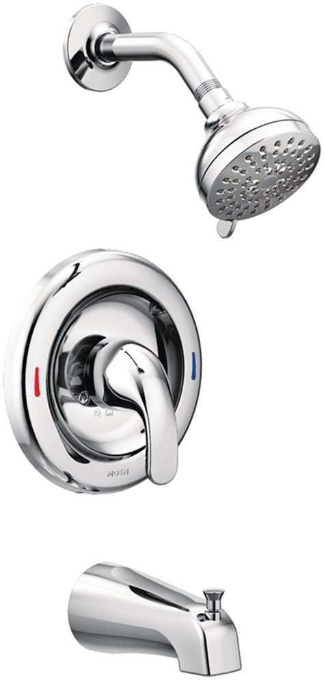 Moen Adler Faucet Cartridge by Moen Adler Tub Shower Faucet 5 1 2 In Lever Knob Handle