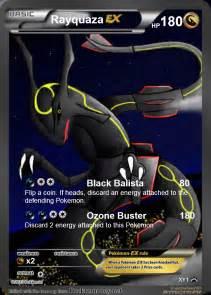 Rayquaza EX Fake Pokemon Card