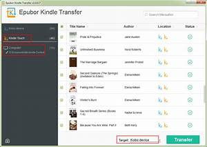 transfer kindle books to kobo With upload documents to kindle