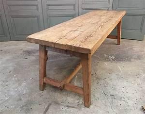 Table Ancienne De Ferme : ancienne table de ferme 2 ~ Dode.kayakingforconservation.com Idées de Décoration