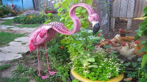 garden decoration using tyres amazing craft ideas how to use tires ᴴᴰ