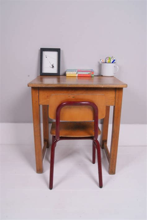 Small Wooden Desk For Sale by Children S Vintage Single School Desk With Lift Up Lid
