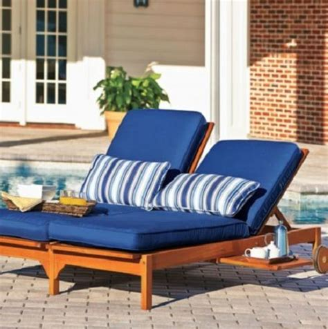 eucalyptus chaise lounge chair outdoor deck patio