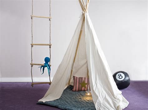 cabane dans une chambre créer une cabane dans une chambre d 39 enfant décoration