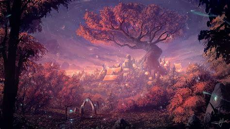 HD wallpaper: Tree of Life wallpaper, artwork, fantasy art ...