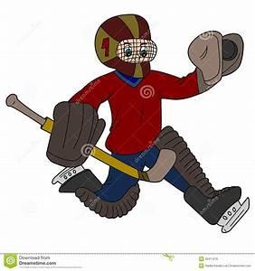 Goalie Cartoon Royalty Free Stock Image - Image: 20411216