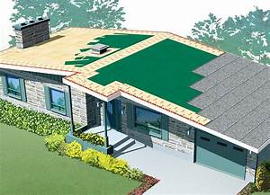 Low Slope Roofs Finishing  Single