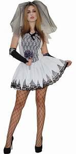 Halloween Skelett Kostüm : zombie kost m halloween skelett braut biene sexy horror gr ~ Lizthompson.info Haus und Dekorationen