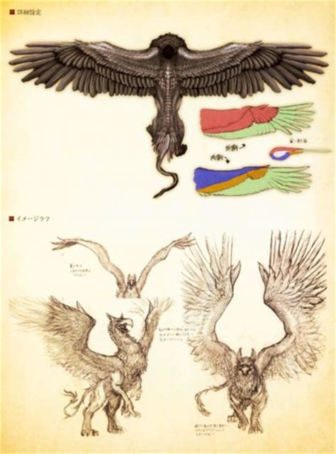 griffin dragons dogma illustration ilustraciones