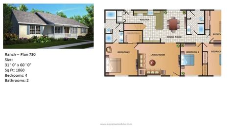 customized floor plans modular home ranch plan 730 2