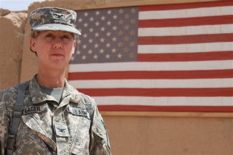 laura yeager graduate  rotc program promoted  major