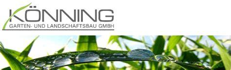 Könning Garten Und Landschaftsbau Gmbh Münster by K 246 Nning Garten Und Landschaftsbau Gmbh Muensterland De