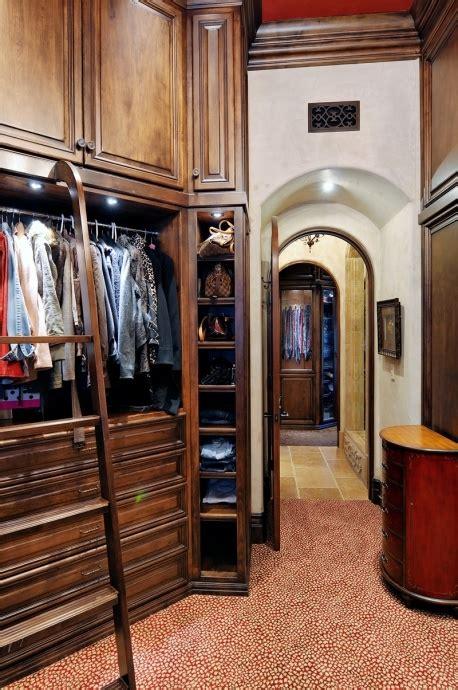 wood closet l shaped but u shaped overall