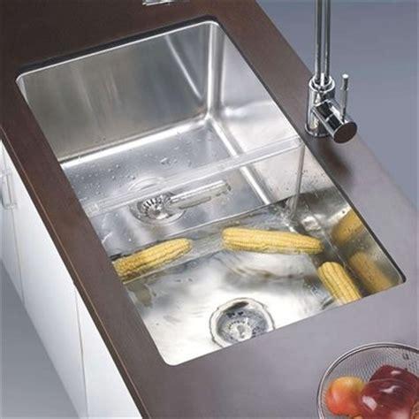 kitchen sink divider insert dsc301717 undermount single basin sink with acrylic