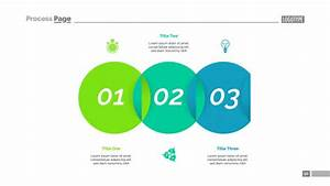 Venn Diagram With Three Elements Template Vector