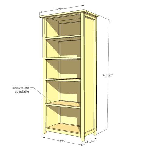 how to build a wall bookcase step by step ana white channing bookcase diy projects