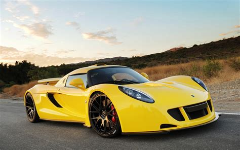 Hennessey Venom Gt Supercar Yellow Wallpaper