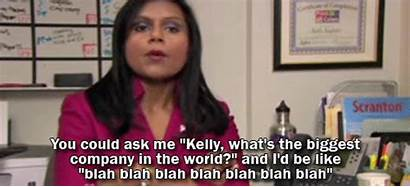 Kelly Office Gifs Greatest Kapoor Smart Crazy