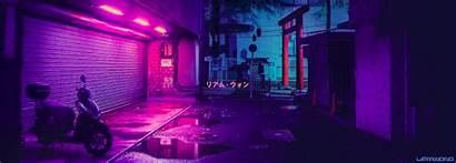 Tokyo Liam Wong Neon Night Rain Aesthetic