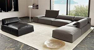 Sofa Grau Leder : sofa in grau 50 wohnzimmer mit designer couch ~ Pilothousefishingboats.com Haus und Dekorationen