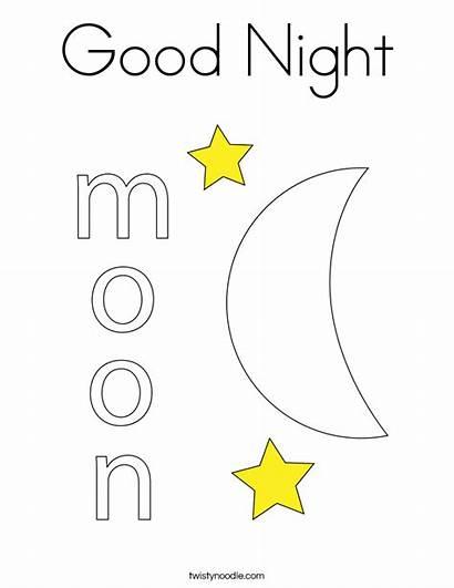 Coloring Night Moon Noodle Built California Usa