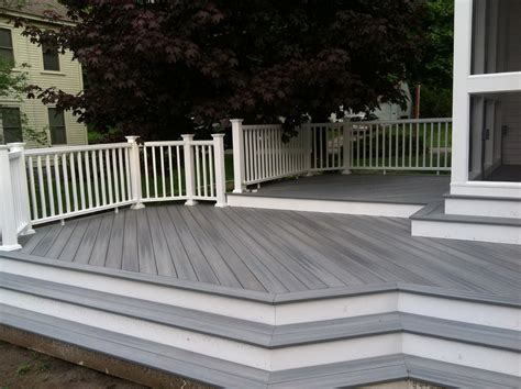 can you paint composite decking material home design ideas