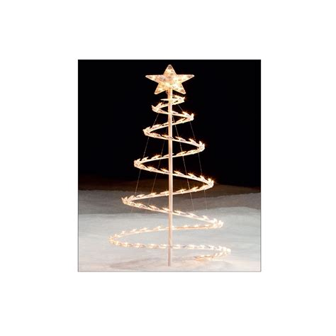 lighted spiral tree light it up with kmart