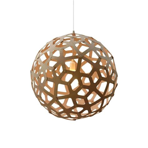 luminaire design pas cher suspension david trubridge coral suspension bois naturel oslashcm