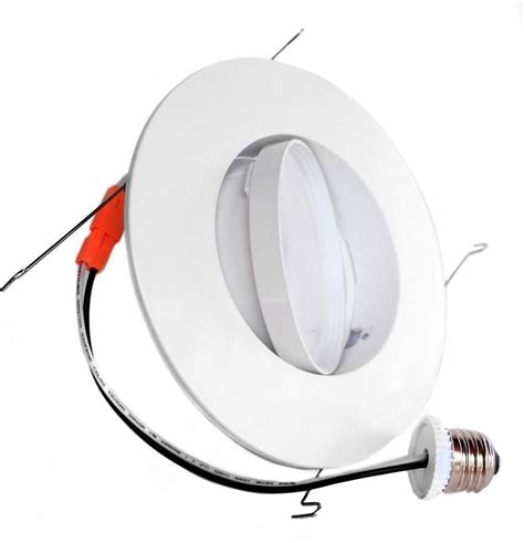 directional can lights 12w 6inch directional gimbal recessed led downlight review