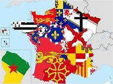 La carte des drapeaux de nos futures superrégions
