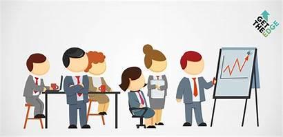 Cartoon Business Meeting Powerpoint Executives Executive Needs