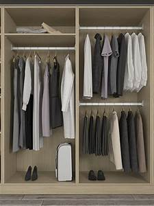 Armoire Basse Penderie : armoire penderie sur mesure de la place du design ~ Teatrodelosmanantiales.com Idées de Décoration