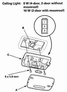 How Do You Replace The Dome Light On A Honda Civic Lx Sedan