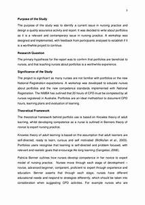 Nursing Dissertation Proposal Example Pdf