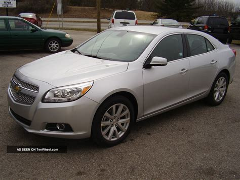 Chevrolet Malibu 2013 Ltz Gas Type  Autos Post