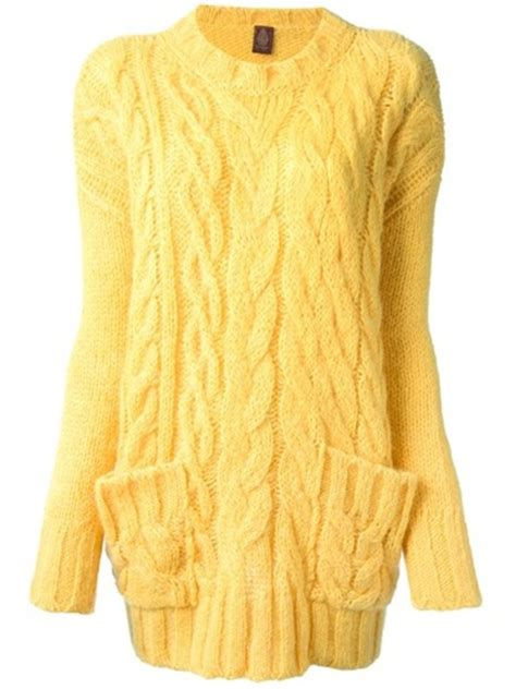 yellow cable knit sweater sweater yellow cable knit wheretoget