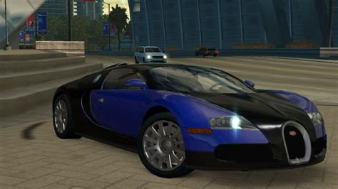 The veyron super sport was revealed to be featured in need for speed: IGCD.net: Bugatti Veyron in Need for Speed: Undercover