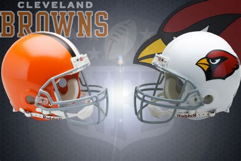 nfl week   cleveland browns  arizona cardinals