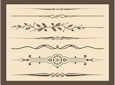 Antique Vector Ornaments Vector Art & Graphics