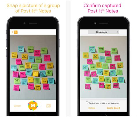 application post it bureau facilitation tool capture sticky notes with post it plus