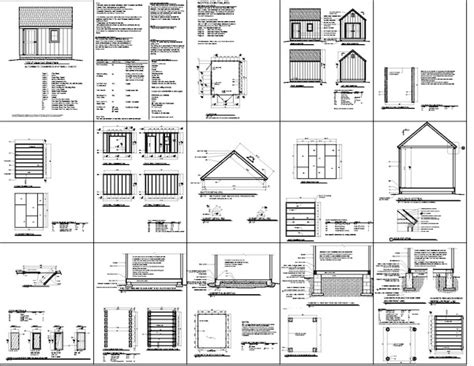8 x 10 shed plans loafing shed building a horse shed
