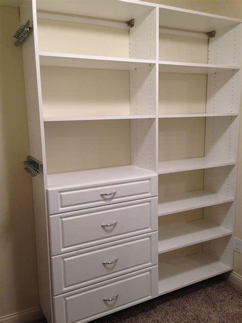 custom closets shelving systems
